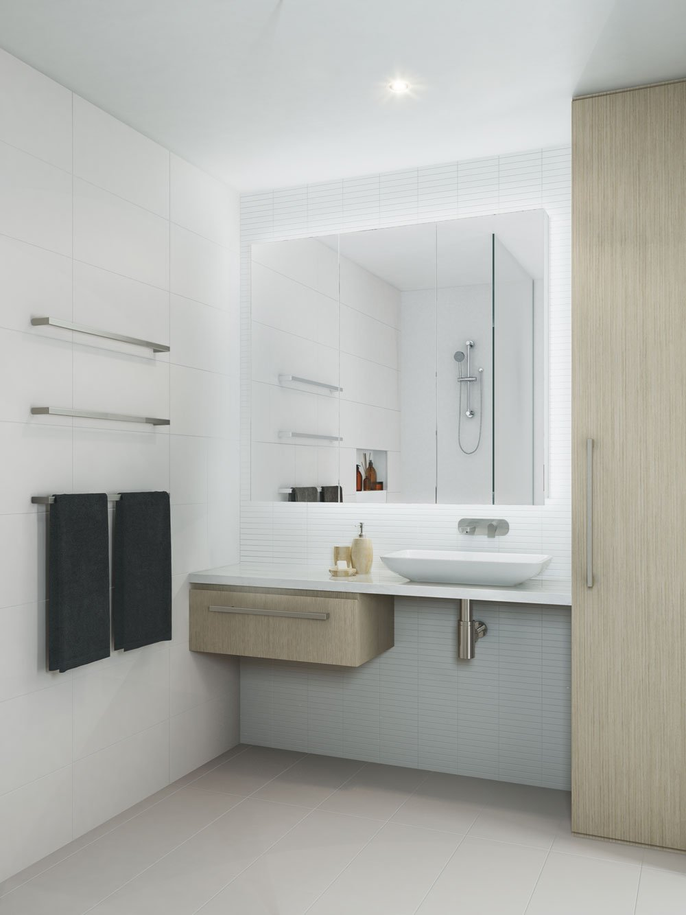 Bathroom, artist's impression, The Orchards