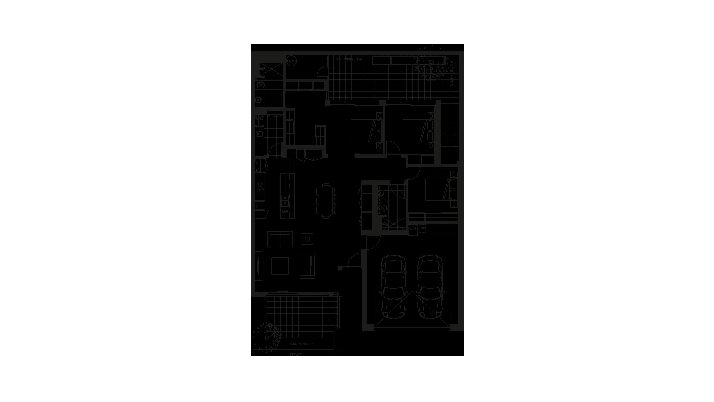 Baptcare, The Orchards – unit 38 floor plan